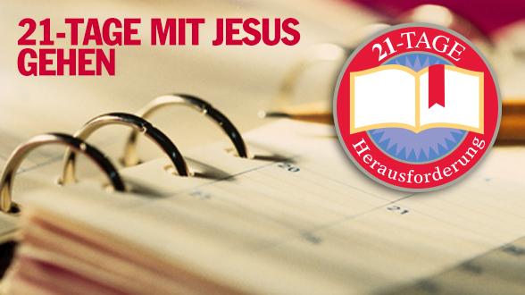 Machen Sie die 21-tägige Herausforderung. Lesen Sie das gesamte Johannesevangelium in 21 Tagen
