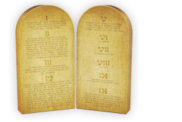 10 Commandments Tablets